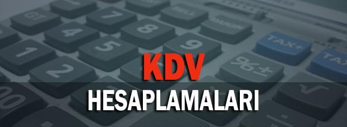 KDV Hesaplamaları: KDV Bulma ve Ekleme