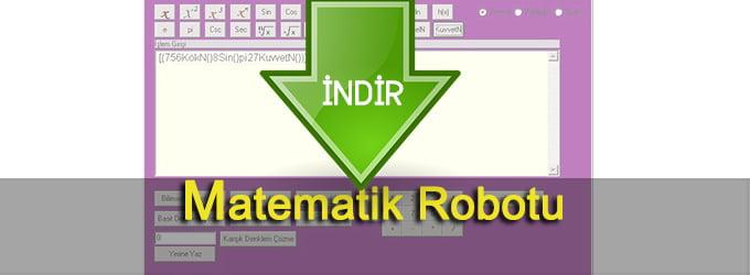 Matematik Robotu Hesap Makinesi İndir