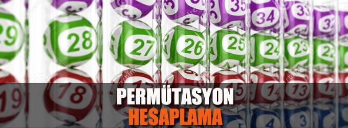 Permütasyon Hesaplama