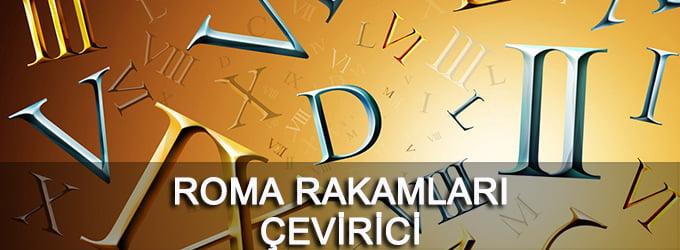 Roma Rakamları Çeviri